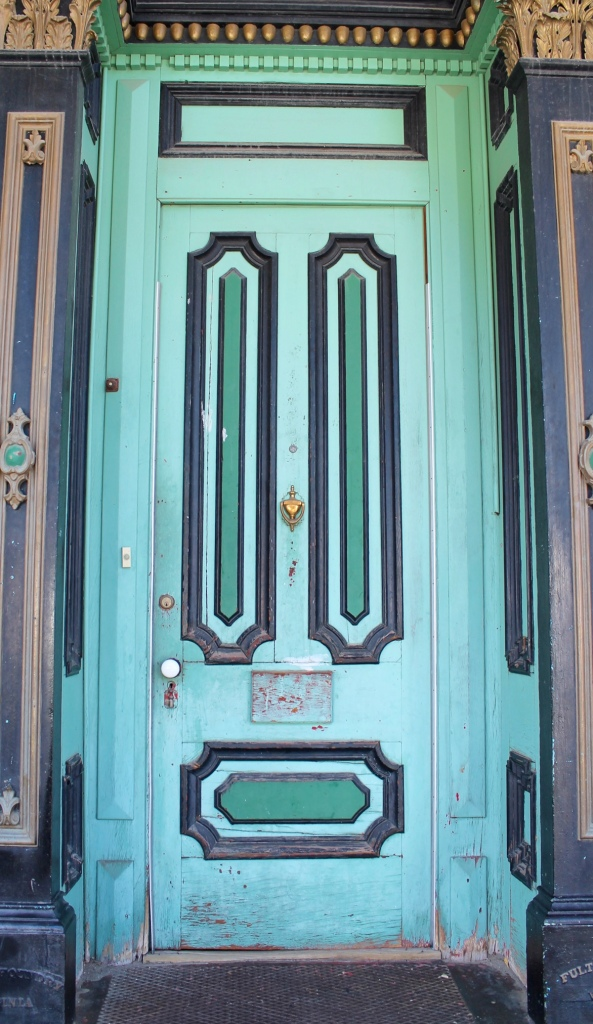 Virginia City door