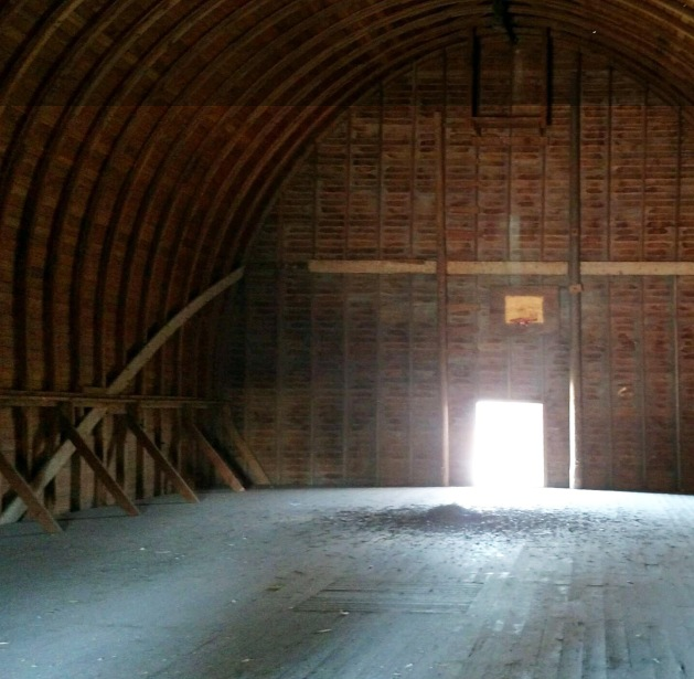 barn roof interior